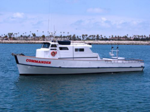 Commander sportfishing long beach ca for Long beach fishing boat