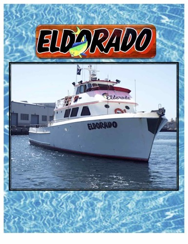 Good afternoon guys!  The Eldorado is online every evening departing at 8:30 PM, FISHING ISLAND FREELANCE/FREELANCE,  TARGETING YELLOWTAIL, WHITE SEABASS, CALICO BASS, ETC! $150 PER PERSON, PREPAID! ( 1 1/2 DAY/MULTI-DAY/SPECIAL TRIPS EXTRA )
