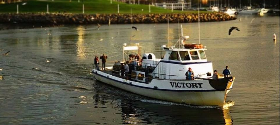 THE VICTORY! 6 AM 3/4 DAY TRIPS DAILY! DISCOUNT DAY EVERY THURSDAY ONLY $45 PER PERSON, PREPAID ONLINE!!