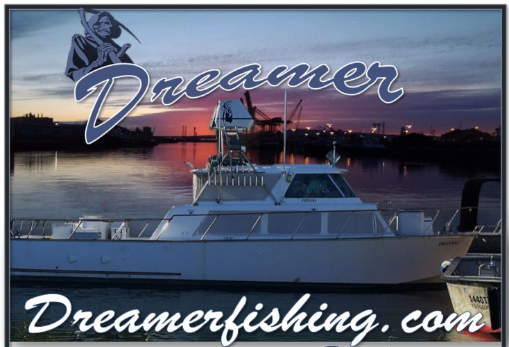 Fish with Capt Allyn Watson about the 6 pack charter boat Dreamer!  Please contact Reggie @ 775 250 2777 for prices and available dates!