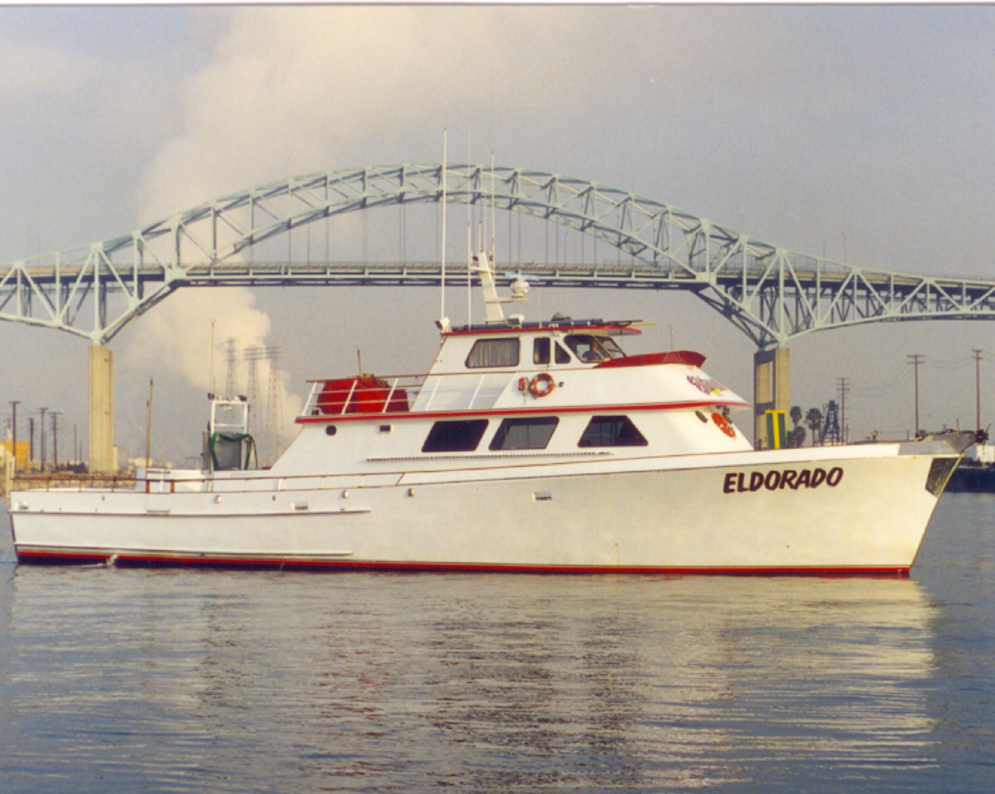 Our Overnight Boat Eldorado Is Curly Fishing San Nicolas Island For Lingcod Rockfish Sheephead